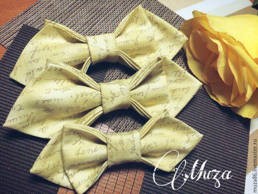 Галстуки, бабочки ручной работы. Ярмарка Мастеров - ручная работа. Купить Бабочки в стиле Family Look  от Tatyana MUZA. Handmade.