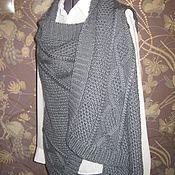 Одежда ручной работы. Ярмарка Мастеров - ручная работа Безрукавка-трансформер. Handmade.
