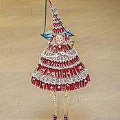 Куклы и игрушки ручной работы. Ярмарка Мастеров - ручная работа Ёлочка Ажурная. Handmade.