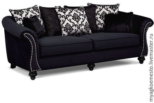 """Мебель ручной работы. Ярмарка Мастеров - ручная работа. Купить Кресло, 2 дивана, пуф - комплект мебели """"Пари"""". Handmade."""
