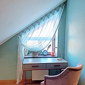 Для дома и интерьера handmade. Livemaster - original item Curtains for loft. Handmade.