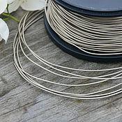 Материалы для творчества handmade. Livemaster - original item 1,0 mm Nickel silver wire, soft. Handmade.