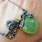 Украшения handmade. Livemaster - original item Necklace - pendant