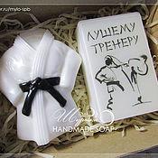 """Подарки к праздникам ручной работы. Ярмарка Мастеров - ручная работа Подарочный набор """"Тренеру или спортсмену"""", мыло ручной работы. Handmade."""