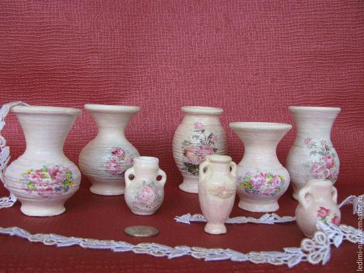 Миниатюра, вазочка, мини вазочка, мини ваза, керамика ручной работы, подарок, подарок девушке, подарок женщине, недорогие подарки, недорогие сувениры, недорогой сувенир, подарок девочке, недорогой