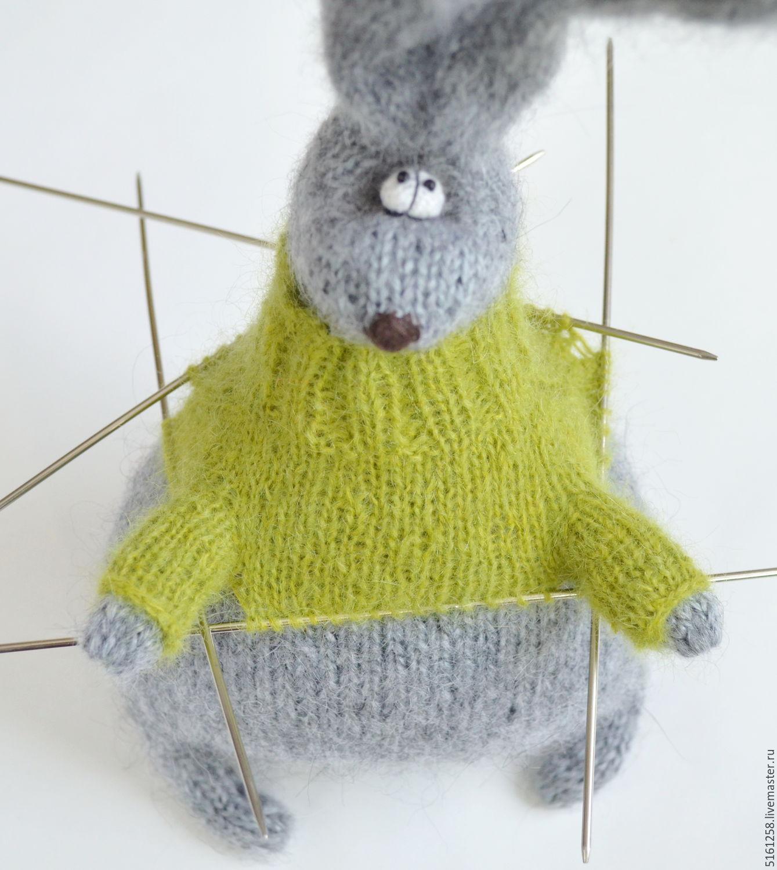 Vk Dmca мастер класс заяц ждун вязаные игрушки спицами вязаные зайцы