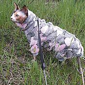 Для домашних животных, handmade. Livemaster - original item Clothing for cats Jumpsuit