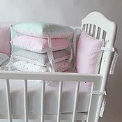 Для дома и интерьера handmade. Livemaster - original item Bumpers pillows. Handmade.