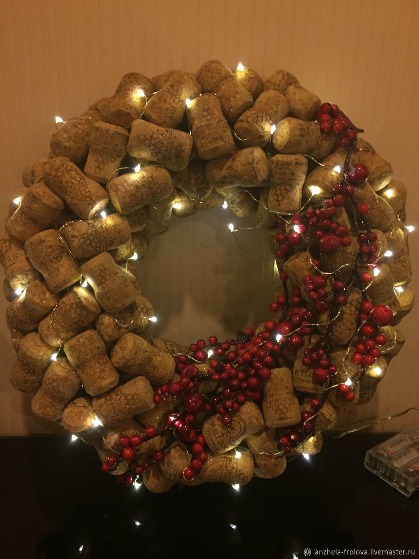 Рождественский венок, Интерьерные венки, Кингисепп,  Фото №1