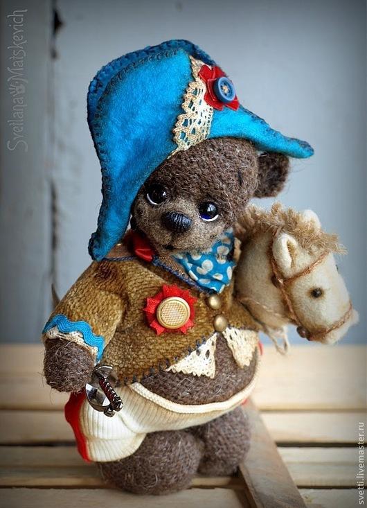 Мишки Тедди ручной работы. Ярмарка Мастеров - ручная работа. Купить Великий Боня (эко-мишка). Handmade. Коричневый