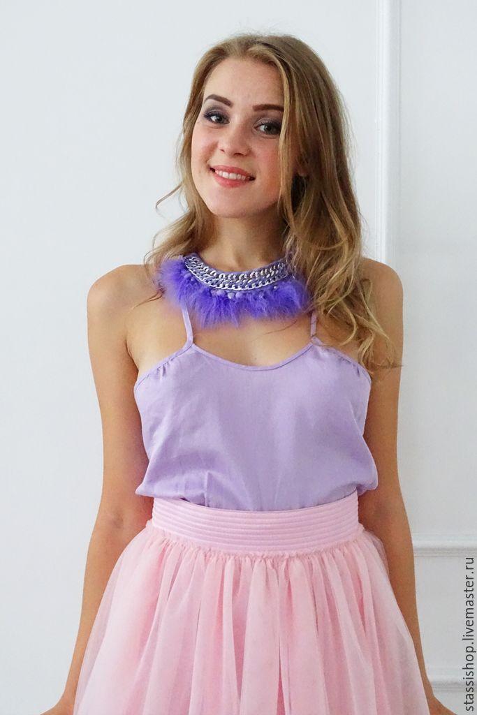 4228b4ad7c3 Юбка-пачка из фатина, пышная юбка розовая
