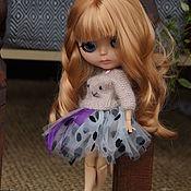 Куклы и игрушки ручной работы. Ярмарка Мастеров - ручная работа Комплект одежды для куклы Блайз. Handmade.