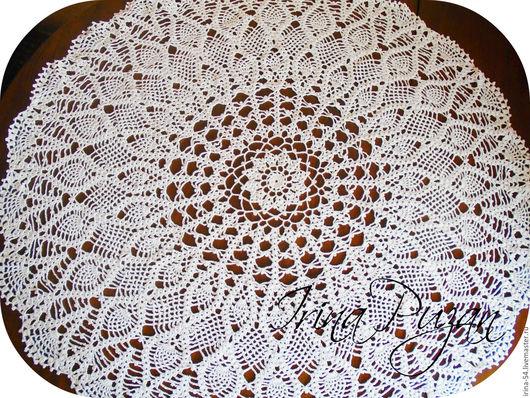 Текстиль, ковры ручной работы. Ярмарка Мастеров - ручная работа. Купить Мини - скатерть. Handmade. Белый, скатерть на стол