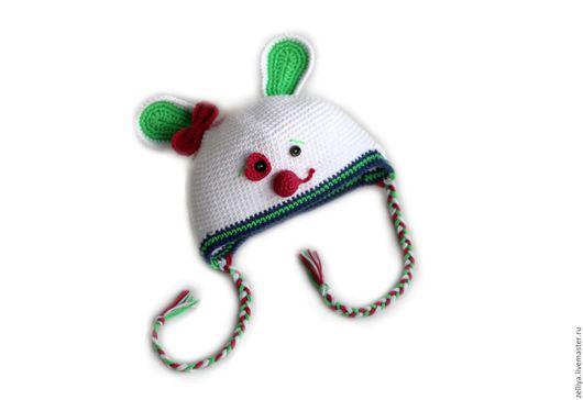 Зверошапка, зверошапочка, шапка зайка, вязаная зверошапка, вязаная зверошапочка, шапка для мальчика, шапка для девочки, шапка с ушками, зверошапки, шапка вязаная.