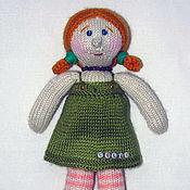 Куклы и игрушки ручной работы. Ярмарка Мастеров - ручная работа Вязаная кукла Solli. Handmade.