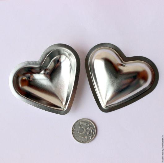 Другие виды рукоделия ручной работы. Ярмарка Мастеров - ручная работа. Купить Сердце 3D (пара половинок). Резак, каттер, формочка. Handmade.