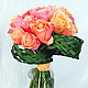 Букеты ручной работы. Ярмарка Мастеров - ручная работа. Купить Букет роз. Handmade. Свадьба, флористика, свадебная флористика