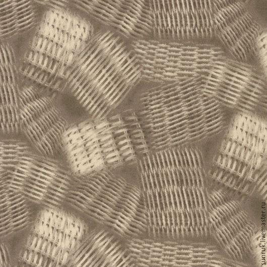 Шитье ручной работы. Ярмарка Мастеров - ручная работа. Купить Ткань для пэчворка и шитья, Япония. Handmade. Коричневый, ткань для творчества