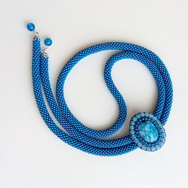 Decorations handmade. Livemaster - original item With pendant of beads