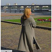 Одежда handmade. Livemaster - original item Stylish knitted coats and knitted blouse cashmere. Handmade.