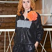 Одежда ручной работы. Ярмарка Мастеров - ручная работа Костюм  в пайетках. Handmade.