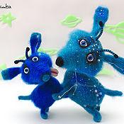 Куклы и игрушки ручной работы. Ярмарка Мастеров - ручная работа Игрушка вязаная Центаврийские псы. Handmade.