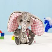 Куклы и игрушки ручной работы. Ярмарка Мастеров - ручная работа Слоник Грейсон. Handmade.