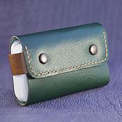 Сумки и аксессуары handmade. Livemaster - original item The image business card Holder made of premium Japanese leather ( card case ). Handmade.