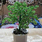 Подарки к праздникам ручной работы. Ярмарка Мастеров - ручная работа Дерево счастья из зеленого цитрина. Handmade.