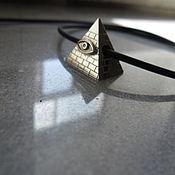 Украшения ручной работы. Ярмарка Мастеров - ручная работа подвеска Пирамида, египет, египетская тема. Handmade.