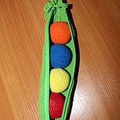 Куклы и игрушки handmade. Livemaster - original item Toy pea Pod. Handmade.