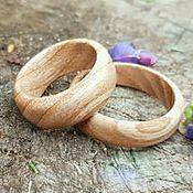 Кольца ручной работы. Ярмарка Мастеров - ручная работа Изысканные кольца из белого ясеня. Handmade.