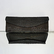 Сумки и аксессуары handmade. Livemaster - original item Evening clutch made of Python BLAICE. Handmade.