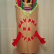 "Дизайн и реклама ручной работы. Ярмарка Мастеров - ручная работа ростовая кукла ""Шаурма"". Handmade."