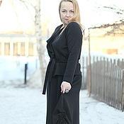 """Одежда ручной работы. Ярмарка Мастеров - ручная работа Вязаный костюм """"Городской шик с длинной юбкой"""". Handmade."""