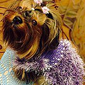 Для домашних животных, ручной работы. Ярмарка Мастеров - ручная работа Платье с жемчужинками. Handmade.