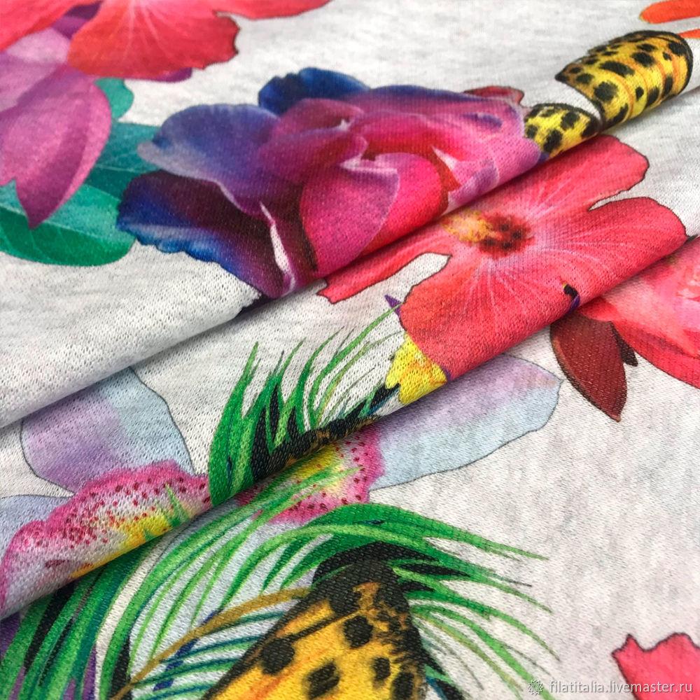 Cotton 98% Elastane 2% footer, Fabric, Ekaterinburg,  Фото №1