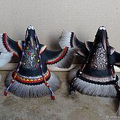 Статуэтки ручной работы. Ярмарка Мастеров - ручная работа Танцующая ворона. Handmade.