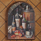 Для дома и интерьера handmade. Livemaster - original item Decorative cutting Board