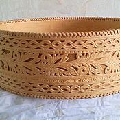 Для дома и интерьера handmade. Livemaster - original item a sieve made of birch bark wedding. Handmade.