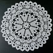 Для дома и интерьера handmade. Livemaster - original item 42,5 / FLOWER doily decorative. Handmade.