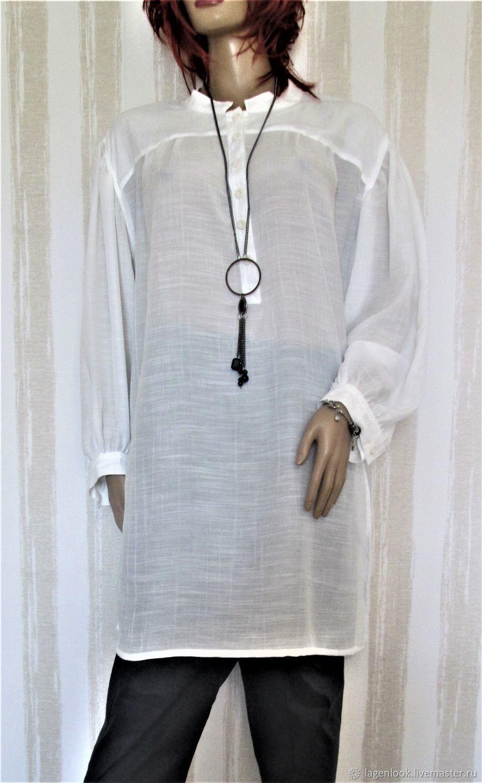 blouse: Long sleeve cotton blouse, Blouses, Tallinn,  Фото №1