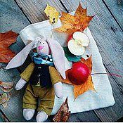 Куклы и игрушки ручной работы. Ярмарка Мастеров - ручная работа Осенний зай. Handmade.