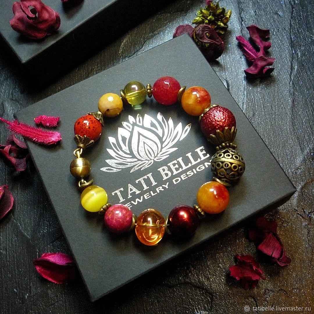 Bracelets handmade. Livemaster - handmade. Buy Bracelet of gems.Handmade, gift girl, stylish bracelet