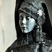 Ведьма. Эксклюзивная коллекционная кукла ручной работы.