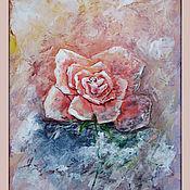 Картины и панно ручной работы. Ярмарка Мастеров - ручная работа Роза. Handmade.
