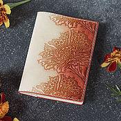 handmade. Livemaster - original item Passport cover, leather avtodokumentov