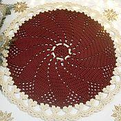 Для дома и интерьера handmade. Livemaster - original item Handmade carpet knotted cord Christmas star. Handmade.