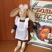 Куклы и игрушки ручной работы. Ярмарка Мастеров - ручная работа Зайка первоклашка. Handmade.