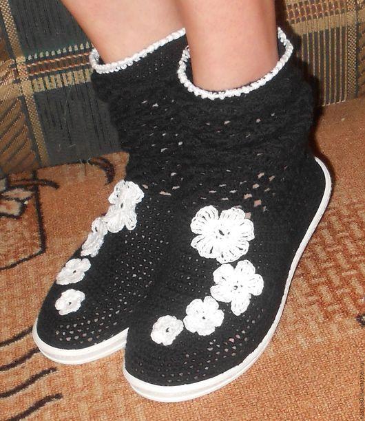 Обувь ручной работы. Ярмарка Мастеров - ручная работа. Купить Сапожки весна, лето, осень. Handmade. Сапожки летние